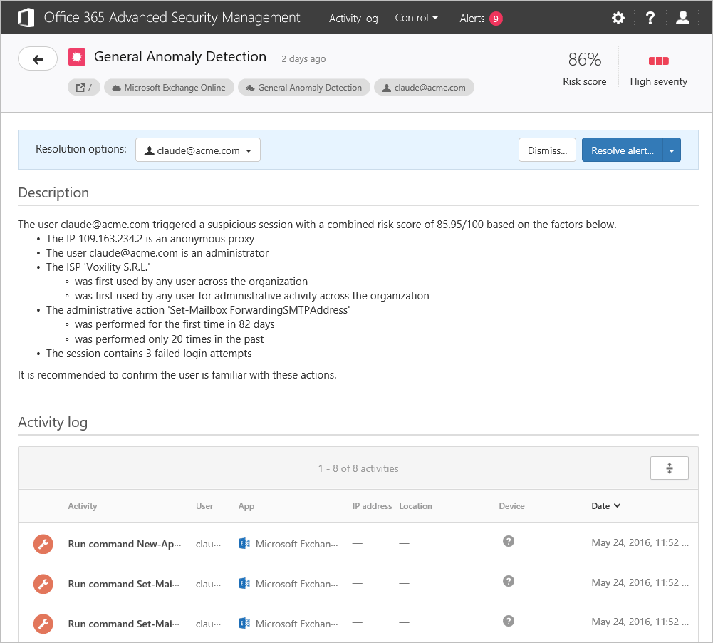 Advanced Security Management 1