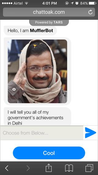 Chat to AK Bot!