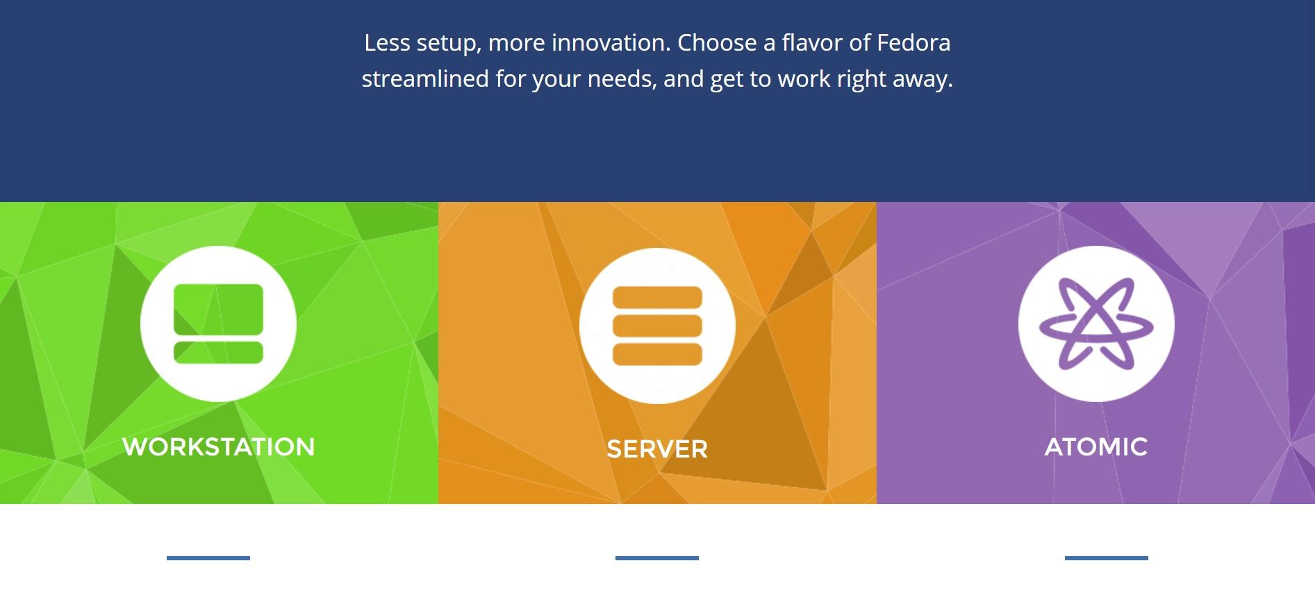 Fedora editions