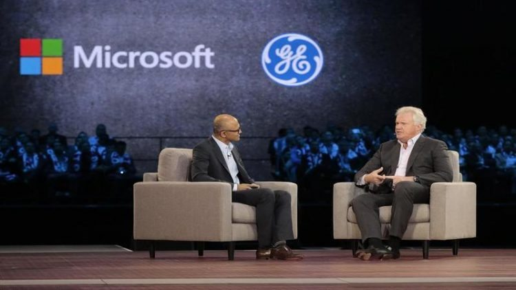 Ge Microsoft Team Up To Bolster Industrial Iot