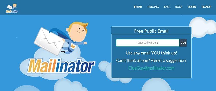 Maiinator mail
