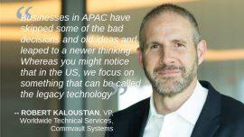 Robert Kaloustian VP Commvault