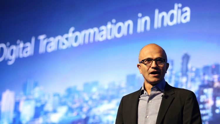 Satya Nadella Microsoft Future Decoded