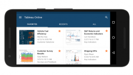 Tableau Mobile software now available for android users
