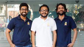Co-Founders Viral Chhajer, Devashish Dalmiya and Varun Bhalla