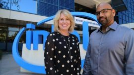 Diane Bryant, EVP and GM, Intel and Naveen Rao, CEO and Co-Founder, Nervana