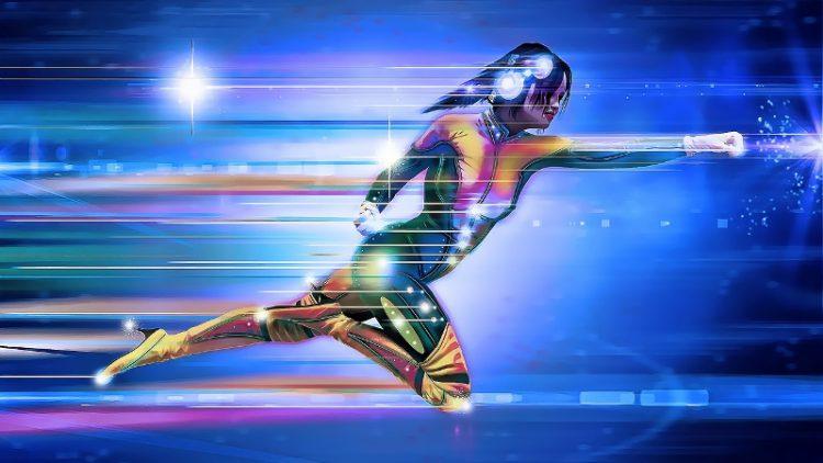 digital superhero