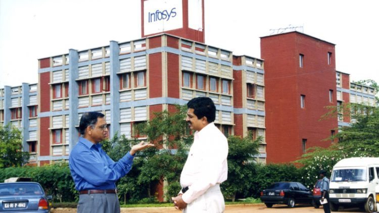 File picture of Infosys Founder Narayana Murthy with Former Chairman of the Unique Identification Authority of India, Nandan Nilekani (Picture for representation purpose only)